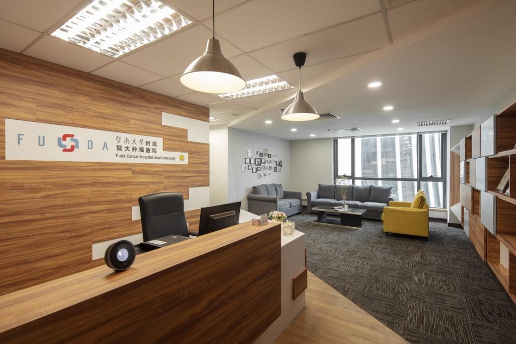 Fuda Cancer Hospital interior designed by DCS Creatives