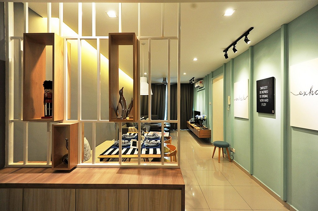 The Zest @ Kinrara 9 was designed and built by DCS Creatives